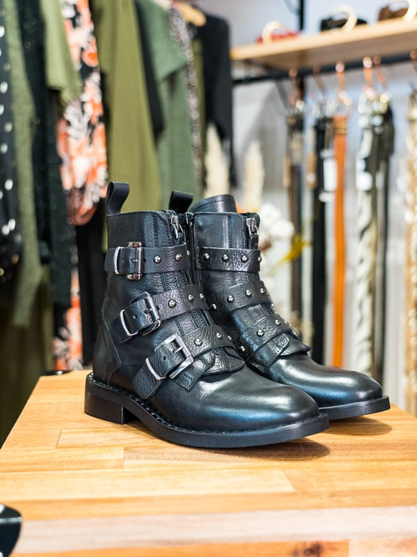 Boots SMR triple boucle les pipelettes talence zoom