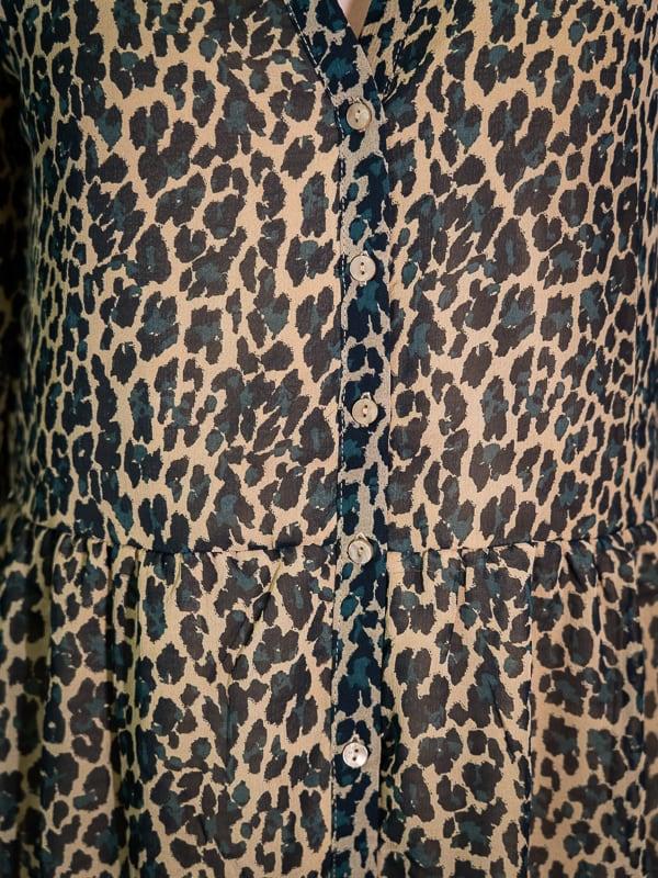Robe fluide leopard les pipelettes talence zoom2