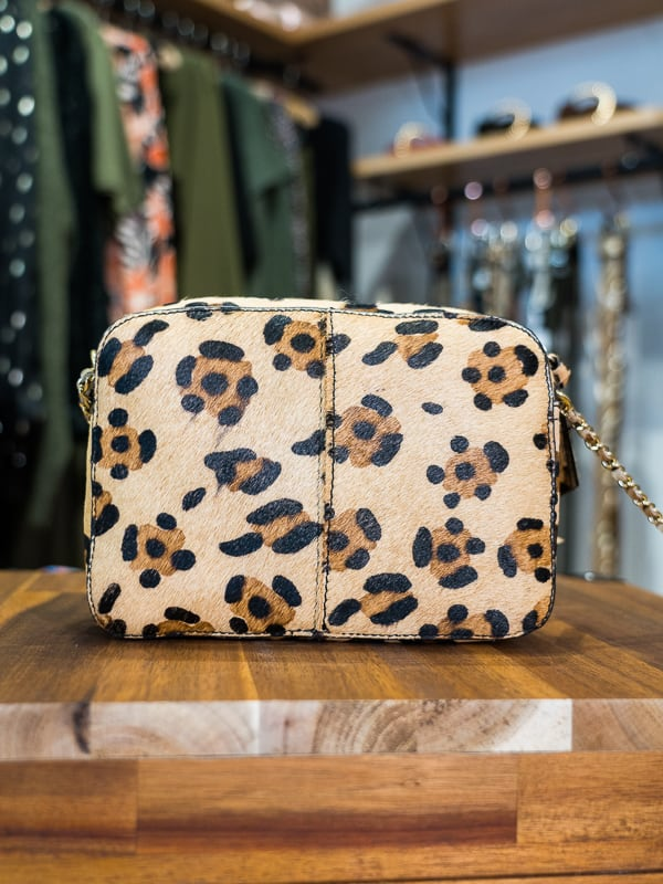 Sac PIECES cuir leopard les pipelettes talence zoom2